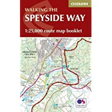The Speyside Way Map Booklet: 1:25,000 OS Route Mapping (British Long Distance)