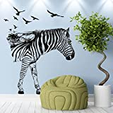 Wall Stickers Longra® Lovely Zebra Silhouettes Stickers Bedroom Living Room Walls Home Decor
