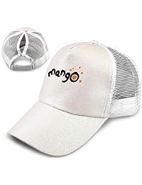 NewCap Cute Mango Fashionable Ponytail Cappello da Baseball con Paillettes  Trucker Regolabile Visiera per Coda di e10c5ce07159