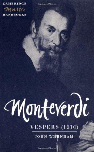Monteverdi: Vespers (1610) Paperback (Cambridge Music Handbooks)