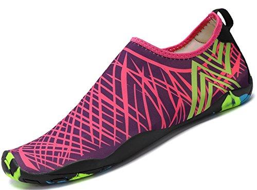 Saguaro Skin Shoes Descalzo acuático Aqua Calcetines para de Nadada de la Playa de la Resaca de la Yoga