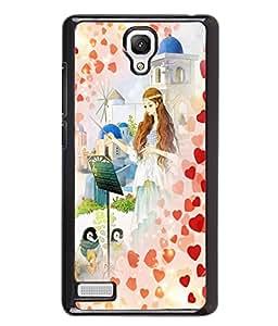 Printvisa 2D Printed Girly Designer back case cover for Xiaomi Redmi Note 4 / 4G - D4548