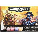 "Games Workshop 60170199006"" Warhammer 40,000 Citadel Essentials Set Game"