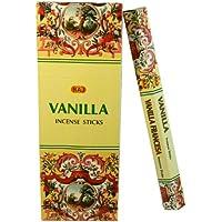 Räucherstäbchen Vanilla 120 Sticks 6 Schachteln Vanille Duft Wohnaccessoire Raumduft Deko preisvergleich bei billige-tabletten.eu