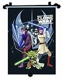 Star Wars 26110 - Clone Wars Sonnenschutzrollo 33 x 56