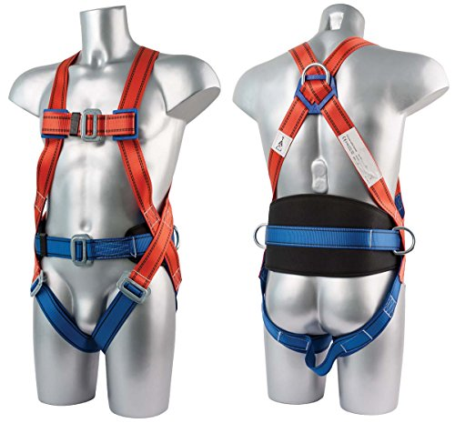 Workwear World WW241 3 Point Safety Fall Arrest Full Body Fall Protection Harness