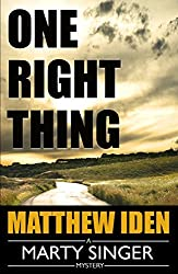 One Right Thing (A Marty Singer Mystery Book 3)