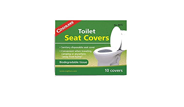 Brilliant Coghlans Toilet Seat Covers 10 Pieces Amazon Co Uk Caraccident5 Cool Chair Designs And Ideas Caraccident5Info