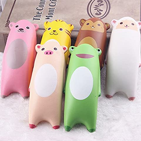 Squishy Toy, Chickwin Random Kawaii PU Cartoon Slow Rising Toy and Soft Wrist Rest for Mouse