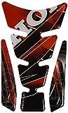 Puig 4785R Protector de deposito, Color Rojo y Negro