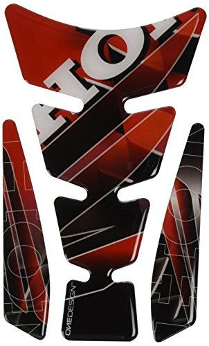 Puig 4785R Protecteur de réservoir Rouge/Noir