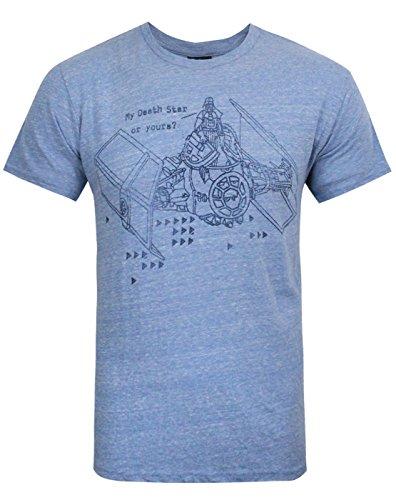 Junk Food Herren Clothing - Star Wars - T-Shirt (L) (Junk Food-t-shirts)