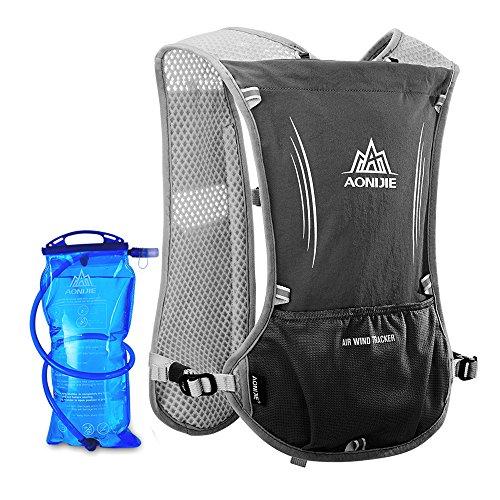 Lixada Mochila Pack Hidratación, Deporte Botella de Agua Mochila Bolsa con 1,5L Vejiga de Hidratación...