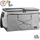 bomoe XXL koeltas opvouwbare IceBreezer KT53 - koelbox voor onderweg - 53x37x32 cm - 62 liter -perfect voor barbecues of festivals