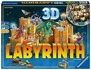 Ravensburger 26113 Das verrückte Labyrinth 3D - Juego de Mesa (Contenido en alemán)