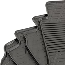 Gledring GLED-BL-1107 Custom Tailored Fit Black All Weather Rubber Boot Liner Tray Mat