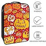 MUOOUM Reisetaschen für Schuhe, Smile Cry Pumpkin Emoji, tragbar, wasserdicht, platzsparend,...