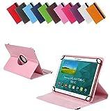 Bralexx Universal Tablet-Tasche für Gigaset QV1030 (26,3 cm (10 Zoll)) rosa