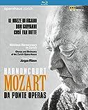 Harnoncourt: Mozart / da Ponte Operas - Nikolaus Harnoncourt in Zürich [3 Blu-rays]