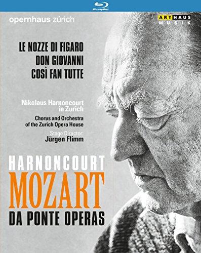 Mozart: Da Ponte Operas [Blu-ray] [Import italien]