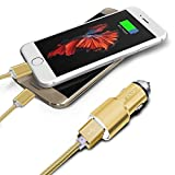 I-Sonite Gold Car Charger & 2 x 1M Micro USB Data - Archos