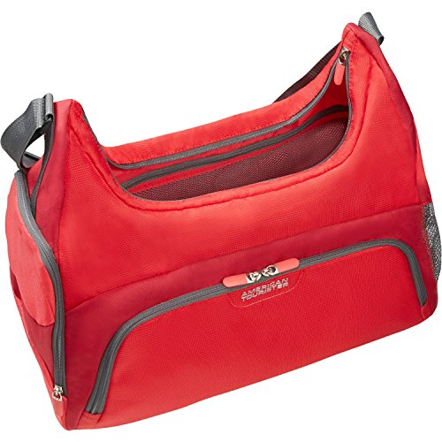 American Tourister - Road Quest - Female Gym Bag Solid Red