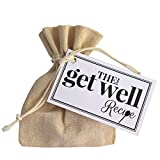 The Little Get Well Recipe - A Thoughtful and Compassionate Unique Gift to Say Get Well Soon to a Friend or Loved One and You're Thinking of Them.