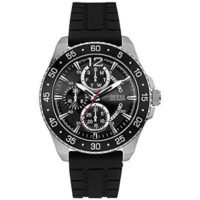 Guess Hombre Reloj de pulsera analógico cuarzo silicona w0798g1 de Guess