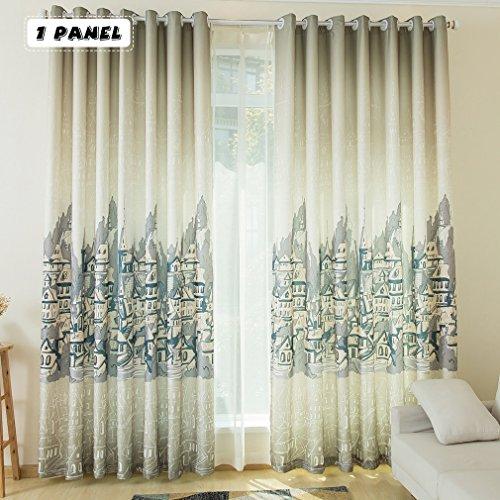 KINLO Tende moderne per soggiorno 1 Pannello - 145cm x 245cm tende ...