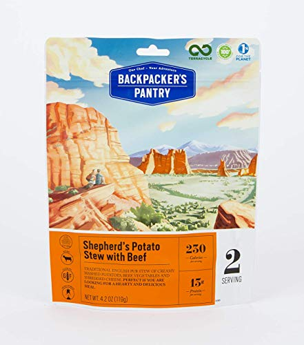 Backpacker's Pantry Shepherd's Potato Stew with Beef, Two Serving Pouch