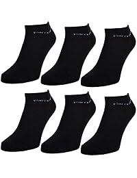 6 oder 12 Paar Pierre Cardin Sneaker Socken Herrensocken Baumwolle Schwarz - sockenkauf24