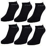 6 oder 12 Paar Pierre Cardin Sneaker Socken Herrensocken Baumwolle Schwarz - sockenkauf24 (39-42, 6 Paar | Schwarz)