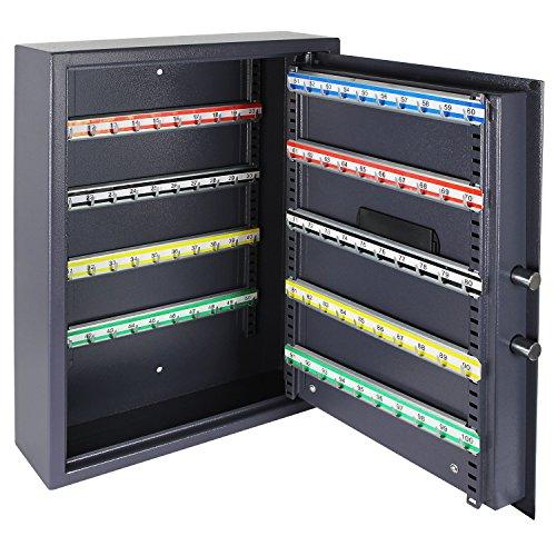 HMF 210007 Schlüsseltresor – 100 Schlüssel mit Elektronikschloss - 2