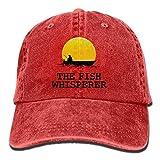 Presock Cappellini da Baseball The Fish Whisperer Denim Hat Adjustable Men Surf Baseball Hats