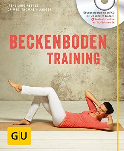 Beckenboden-Training (mit CD) (GU Multimedia) Buch-Cover