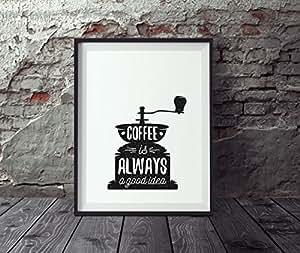 poster k che din a4 poster kaffee wandbild k che poster vintage k chenposter. Black Bedroom Furniture Sets. Home Design Ideas