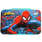 ThemeHouseParty Spiderman Rolex Inner Steel Insulated Lunch Box Cartoon Printed Designer Tiffin Box