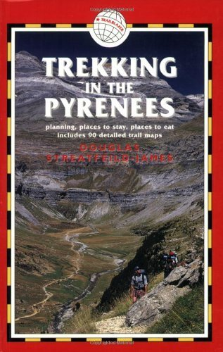 Trekking in the Pyrenees, 3rd: France & Spain Trekking Guides 3rd edition by Streatfeild-James, Douglas (2005) Paperback