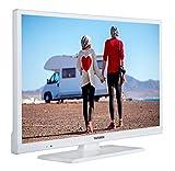 Telefunken XH24D101VD-W 61 cm (24 Zoll) Fernseher (HD Ready, Triple Tuner, DVD-Player, 12 V) für Telefunken XH24D101VD-W 61 cm (24 Zoll) Fernseher (HD Ready, Triple Tuner, DVD-Player, 12 V)