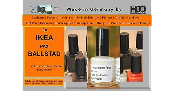 Hdo Farbstift Lackstift Touch Up Pen For Ikea Pax Ballstad White