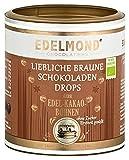 Edelmond Bio-Erythrit Schokoladen-Drops Fair Trade. Fruchtig ohne Zucker