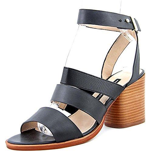 French Connection Ciara Donna US 7 Nero Sandalo Gladiatore