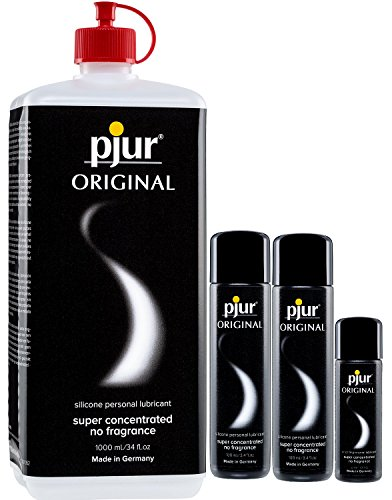 pjur Original Superconcentrated 1230 ml Gleitgel 1 x1000ml, 2 x 100ml 1 x 30ml