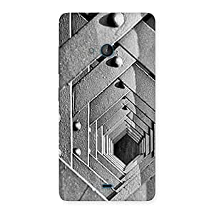 Special Block Cage Back Case Cover for Lumia 540
