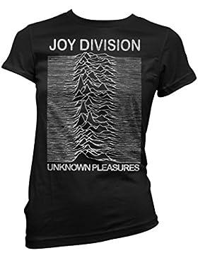 T-shirt Donna Joy Division - Grunge Texture Maglietta 100% cotone LaMAGLIERIA