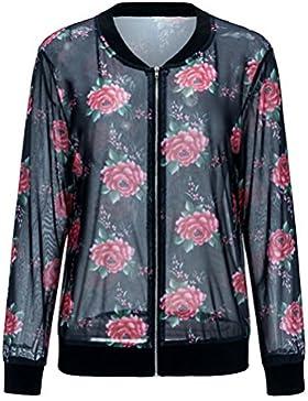 Cremallera impresa, pequeño abrigo, chaqueta para mujer, untar