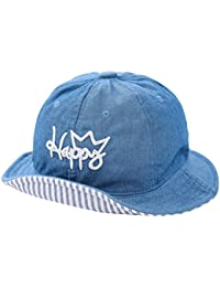 LQZ Breathable Baby Girl Baby Boy Denim Sun Hat for 1-4 Years Old