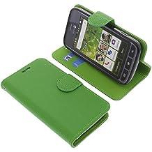 Funda para Doro Liberto 820 Mini estilo libro verde protectora