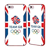 Official Team GB British Olympic Association Flag Logo Red Fender Case for iPhone 6 Plus/iPhone 6s Plus
