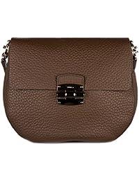 Furla bolso con bandolera mujer en piel nuevo club marrón